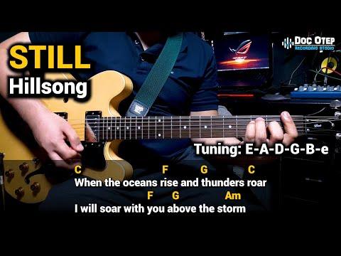 Still - Hillsong (Guitar Chords Tutorial with Lyrics)