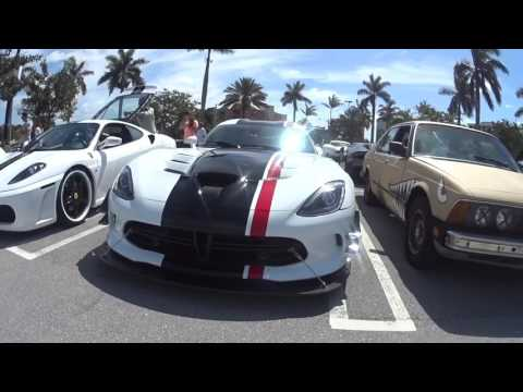 Cars and Coffee Palm Beach After Movie