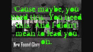 New Found Glory - My Friends Over You (Music Video w/ Lyrics)
