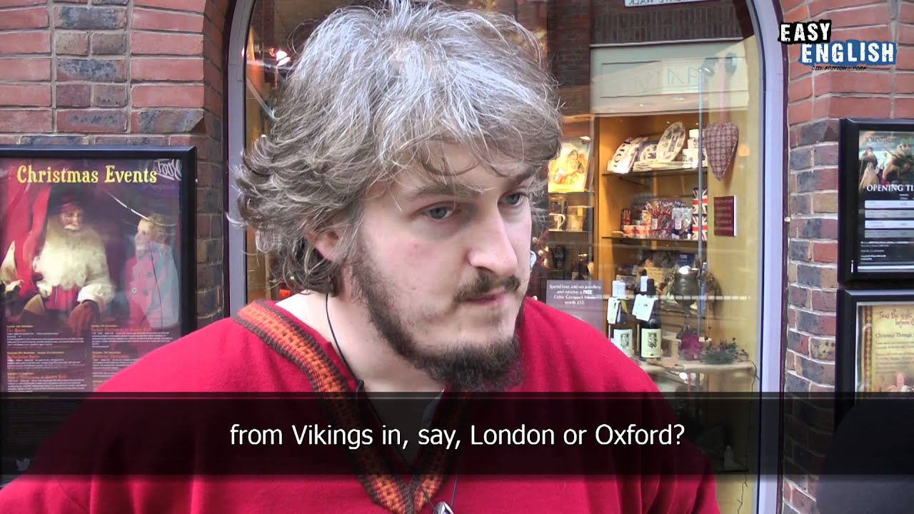 Talking to people in York | Easy English 1