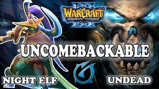"Grubby | ""Uncombackable"" | Warcraft 3 | NE vs UD | Terenas Stand"