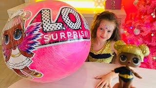 Giant LOL surprise ball !  MAGIC Show !!!