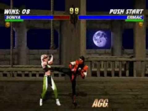 Mortal Kombat Trilogy: Sonya Very Hard Champion Ladder