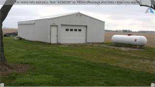 Priced at $119,000 - 6012 North Rushville Road, Carthage, IN 46115