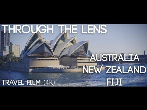 Through The Lens: Australia, New Zealand, & Fiji | Cinematic Travel Film | 4K | Delana Wilkinson