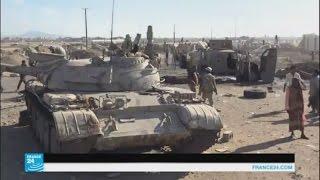 اليمن: معارك في محيط مطار عدن ومنطقتي تعز وشبوة