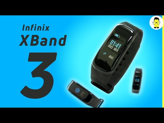 Infinix XBand 3: better than Mi Band 3? | Unboxing and Hands-on review