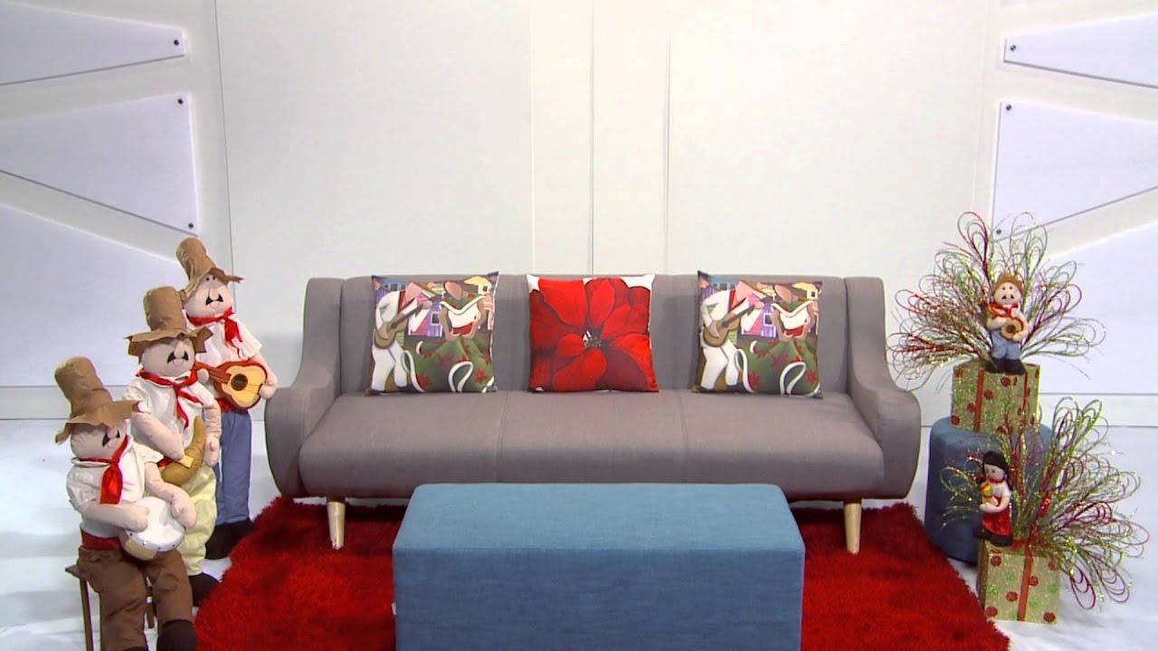 3 estilos simples para decorar tu hogar en navidad youtube for Decora tu sala moderna