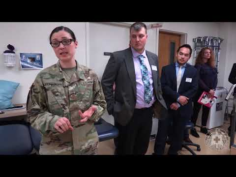 Physical Therapy Students Visit Blanchfield Army Community Hospital