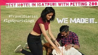 Most Recommended Hotel In Igatpuri - Manas Lifestyle & Manas Resort with Petting Zoo