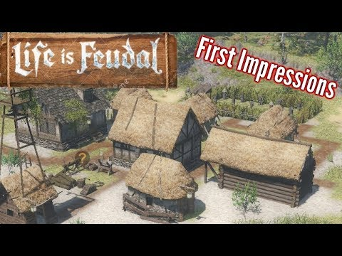 Life Is Feudal: Forest Village | First Impressions | Affiliate/sponsored Link