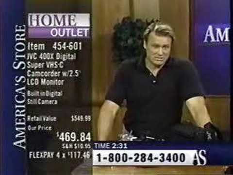 Bruce Calls the Shopping Network