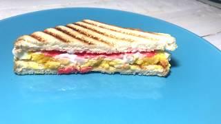 Деликатесный СЭНДВИЧ с красной рыбой | Рецепт бутерброда с рыбой и яйцом+ИМБИРЬ