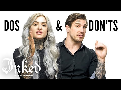 Tattoo Dos And Don'ts With Ryan Ashley And Arlo | INKED