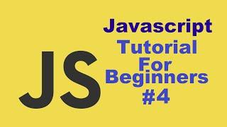 Javascript Tutorial For Beginners 4 #  Data Types