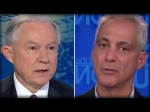 RIGHT AFTER RAHM EMANUEL SUED TRUMP, JEFF SESSIONS RIPPED HIM TO SHREDS WITH FOUR CUTTING WORDS