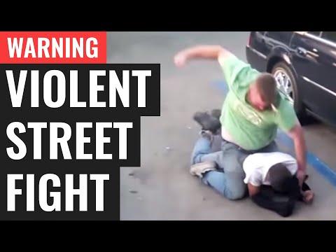 WARNING: Violent Street Fight (Gracie Breakdown)