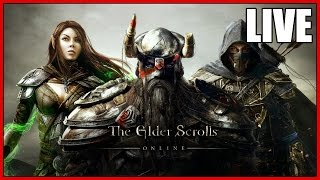 The Elder Scrolls Online (PC) LIVE - Part 8 - DRAUGR TIME