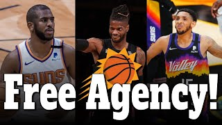 What Will the Suns do in the 2021 Free Agency?