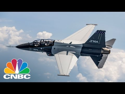 Inside Lockheed Martin's T-50A | Power Lunch | CNBC