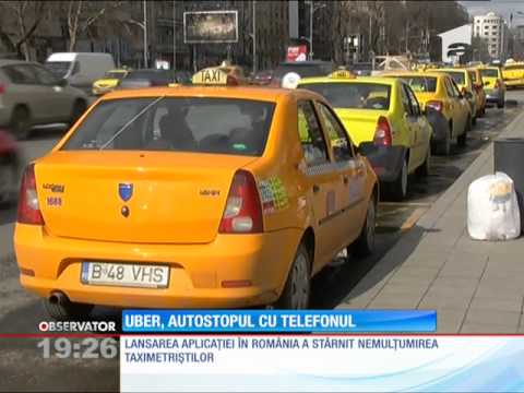 Autostopul cu telefonul a ajuns şi în București