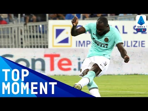Lukaku Scores the Winner for Inter! | Cagliari 1-2 Inter | Top Moment | Serie A