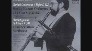 Mozart: Clarinet Concerto: I. Allegro     (Audio Only)