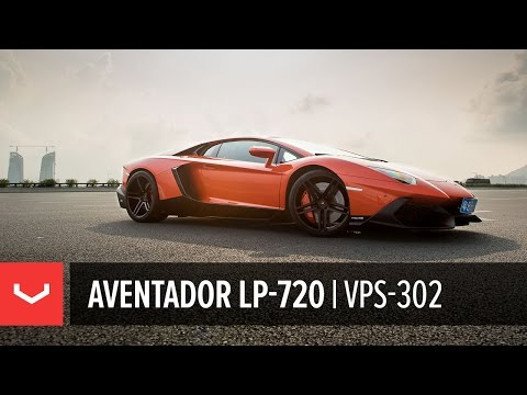 Lamborghini Aventador LP-720 | Shenzhen City, China | Vossen Forged VPS-302