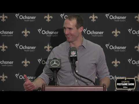 Drew Brees Postgame Interview, Talks 117 Yard Drive | New Or