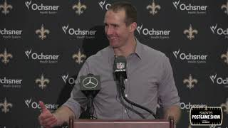 Drew Brees Postgame Interview, Talks 117 Yard Drive | New Orleans Saints