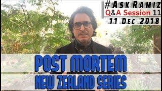 Post Mortem | Pak Vs NewZealand | Ask Ramiz