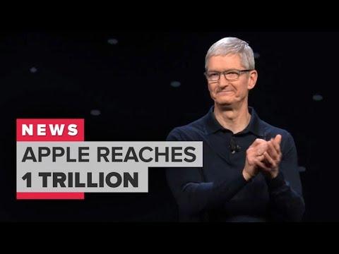 Apple is worth $1 trillion (CNET News)