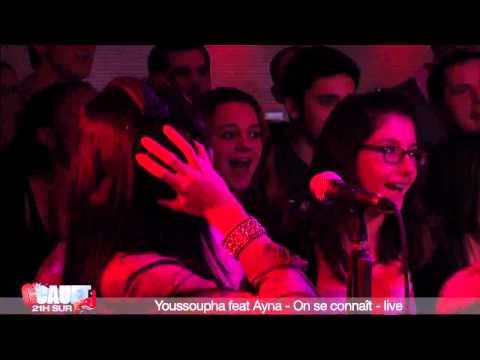 Youssoupha feat Ayna   On se connaît   live   C'Cauet sur NRJ