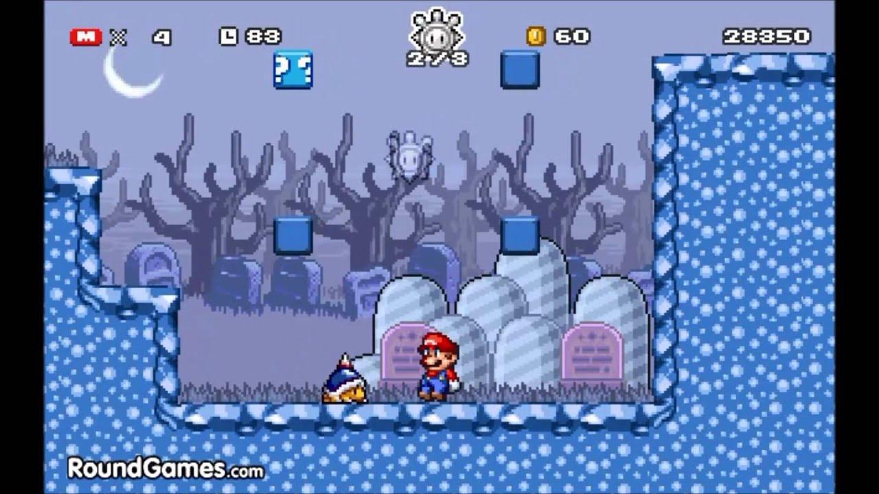 Mario Ghost Island