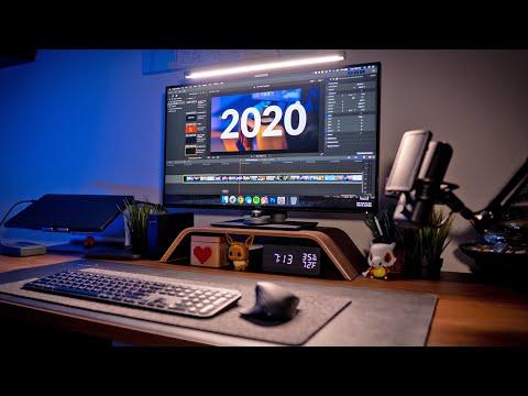 My DREAM Work From Home Setup - Modern Creative Workspace & Home Office Tour 2020   Raymond Strazdas
