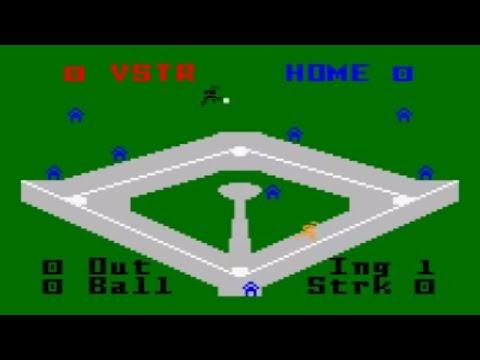 Major League Baseball - Intellivision (Mattel 1980)