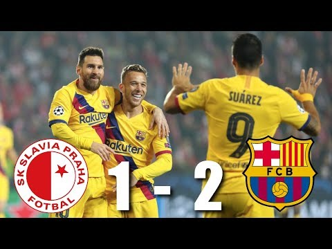 Slavia Prague vs Barcelona [1-2], Champions League, Group Stage 2019/20 - MATCH REVIEW