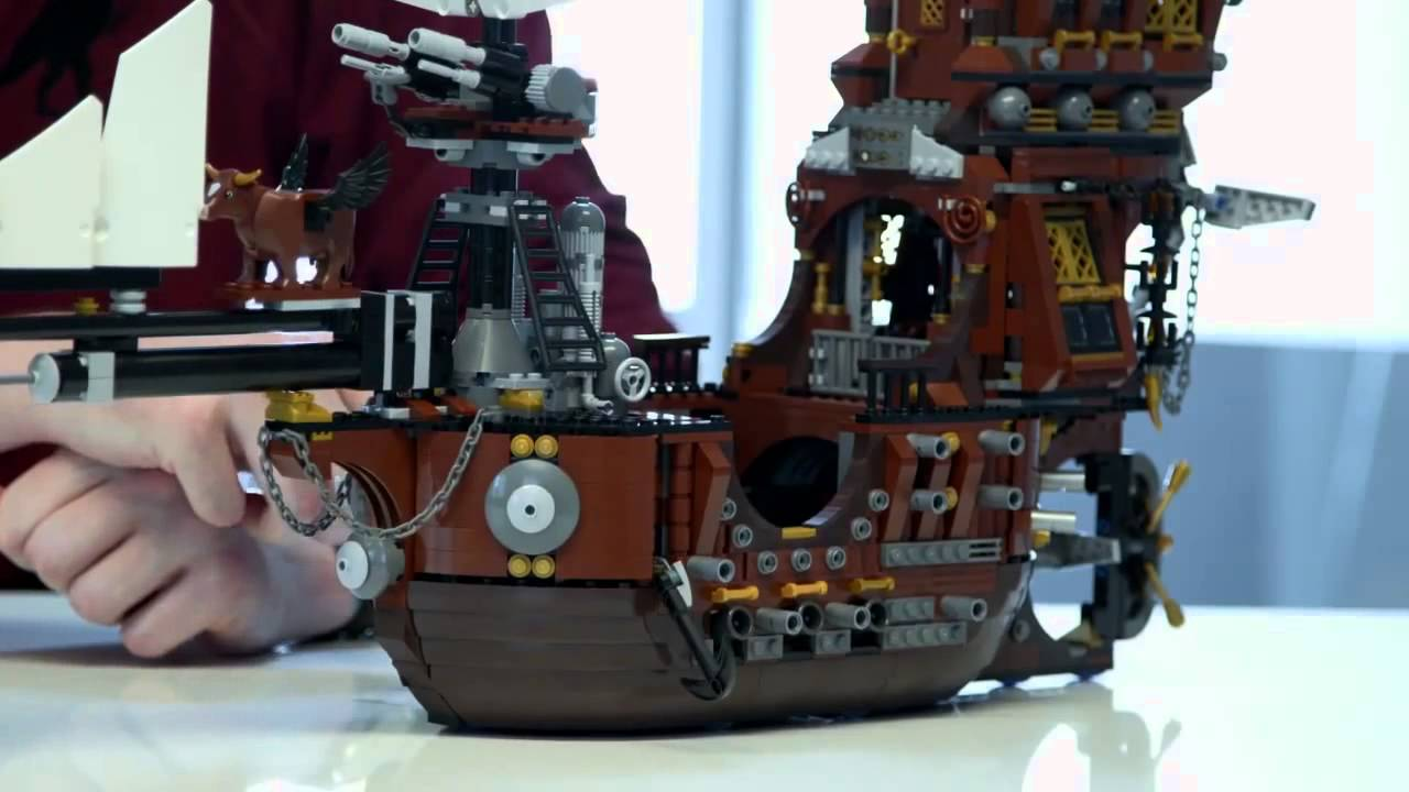 Lego 70810 Metalbeard S Sea Cow Official Video Youtube