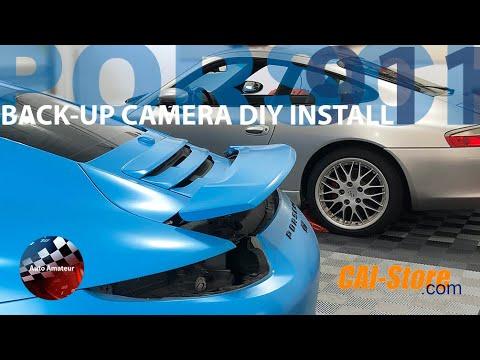 Back-Up Camera DIY Install – Porsche 911