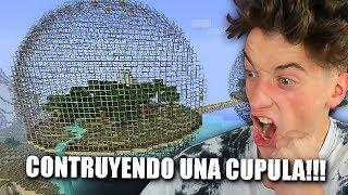 CONTRUYENDO UNA CUPULA GIGANTE EN MI CASA!!! MINECRAFT BYTARIFA GAMING