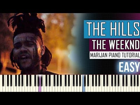 How To Play: The Weeknd - The Hills | Piano Tutorial EASY + Sheets
