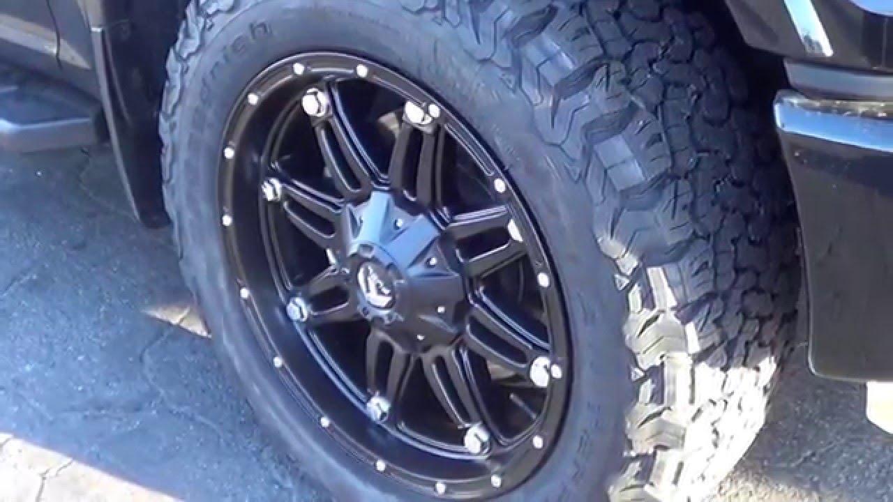 Ford F150 Fx4 Fuel Hostage On Bfg Kot All Terrain Tires