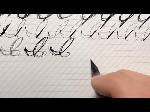 Cursive Capitals - I & J