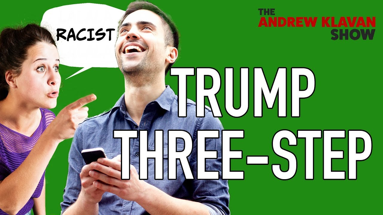 This Is The Trump Three-Step