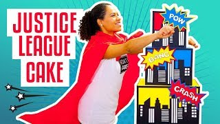 How To Make A JUSTICE LEAGUE Superhero-Inspired Birthday CAKE | Yolanda Gampp | How To Cake It