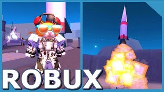 SPENDING ALL MY ROBUX IN ROBLOX SPACE MINING TYCOON
