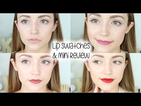 NEW Milani (Limited Edition) Amore Matte Lip Crèmes | Lip Swatches & Review