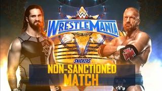 WWE: Seth Rollins VS Triple H WWE:Wrestlemania 33 2017 Full Match