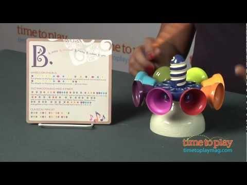 Piccolo Carousel Bells from Battat