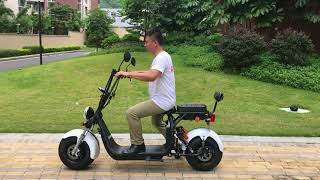Harley electric scooter EEC COC Rooder Group Hk SHANSU technology limited